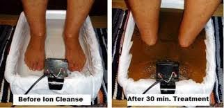 ionising detox footbath
